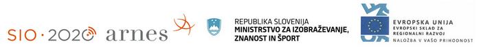 Program nadaljnje vzpostavitve IKT infrastrukture v vzgoji in izobraževanju – SIO 2020